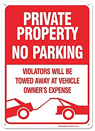 Can You Tow A Car On Private Property