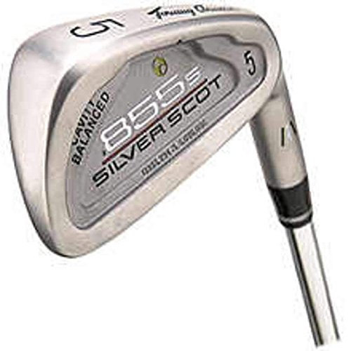 Tommy Armour 855S Silver Scot Iron Set 4-PW Stock Steel Shaft Steel Regular Left Handed 39 in ()