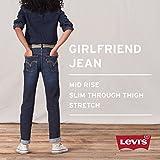 Levi's Girls' Big Girlfriend Fit Jeans, Nirvana, 12
