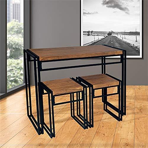 Atlantic Dining Table Set Black