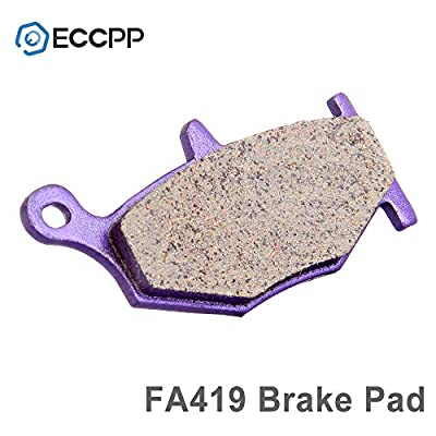 ECCPP FA379 FA254 Brake Pads Front and Rear Carbon Fiber Replacement Brake Pads Kits Fit for 2006-2009 Suzuki,2008-2009 2011-2012 Suzuki Hayabusa,2013 Suzuki Hayabusa GSX1300RA ABS: Automotive