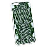 Empty Circuit Board Design Snap On Hard Protective Case for Apple iPhone 6 6s Plus (FITS PLUS MODEL ONLY)