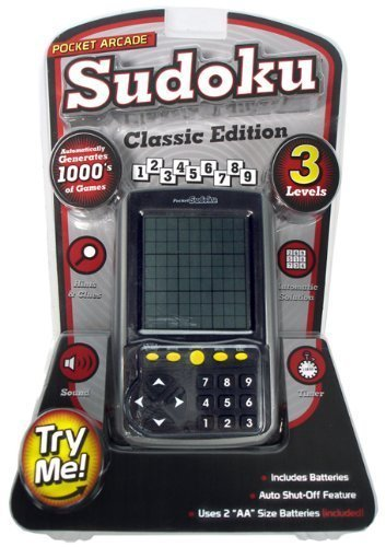 Pocket Arcade Sudoku Classic Edition by Pocket Arcade by Westminster