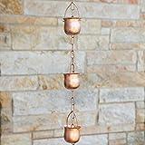 Marrgon Copper Rain Chain – Decorative Chimes