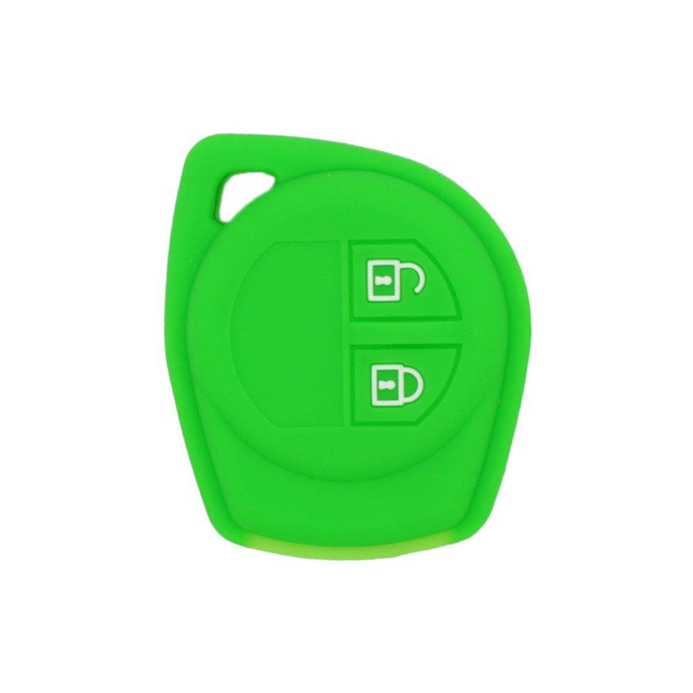 BROVACS Carcasa Protectora de Silicona para Llave de Control Remoto Suzuki de 2 Botones FobCV4545
