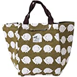 Mothers Day Waterproof Insulated Picnic Lunch Bag Aluminum Foil Insulated Cooler Bag Portable Tote Cooler Canvas...