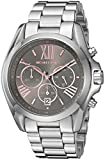 Michael Kors Women's 'Bradshaw' Quartz Stainless Steel Casual Watch, Color:Silver-Toned (Model: MK6557)