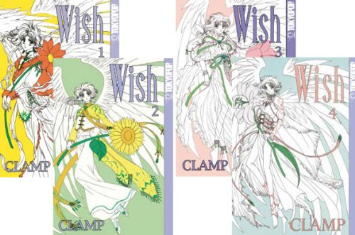 Wish Graphic Novel Set Volumes 1-4 (Clamp)