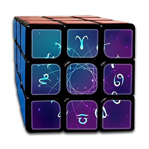 MFYXLM What Is Your Spiritual Name According To Your Zodiac Sign 3x3x3 Speed Magic Cube Custom Puzzles Toys Anxiety Relief For Adults Kids (Ball Zodiac Animal)