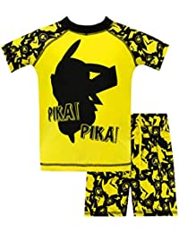 Pokemon Boys' Pikachu Two Piece Swim Set