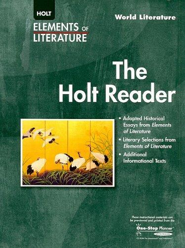 Elements of Literature: The Holt Reader World Literature