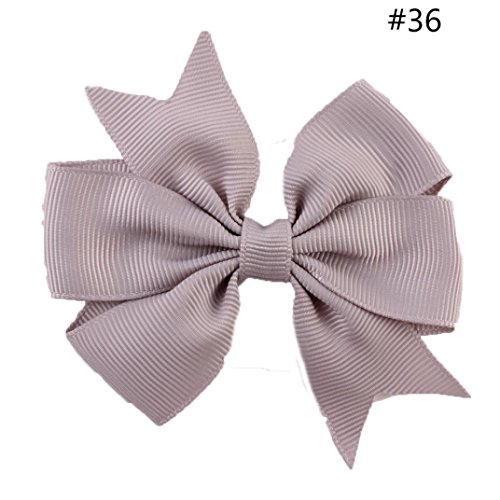 TRENDINAO Christmas/New Year/Birthday Hair Bow Clip Hairpin Colorful for Kids Baby Girls (Halloween Angel Hair Ideas)