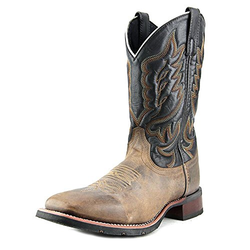 Laredo Men's Montana Sand/Chocolate Boot 8 D (M)