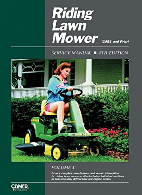 Riding Lawn Mower Service Manual, 4th Edition (Clymer Pro)