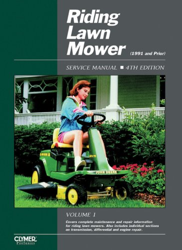 Riding Lawn Mower Service Manual, 4th Edition (Clymer Pro) (Mower Riding Manuals)