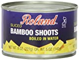 Roland Foods Bamboo Shoots, Sliced, 8 Ounce (Pack of 24) by Roland