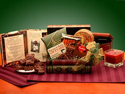 Amazon Com Gourmet Gift Basket Book Lovers Gift Set No Gift Card