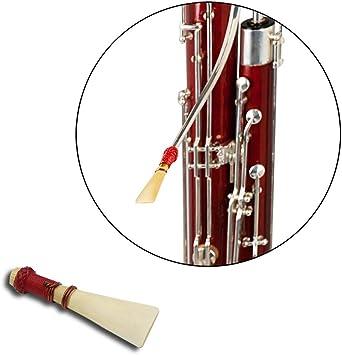 DishyKooker Bassoon Reed Bassoon Bassoon Reed con Estuche Repuestos y Accesorios para Fagot: Amazon.es: Electrónica