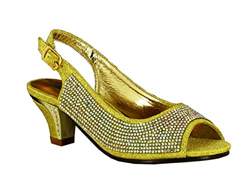 Strictly - Sandalias de vestir de Material Sintético para mujer plata