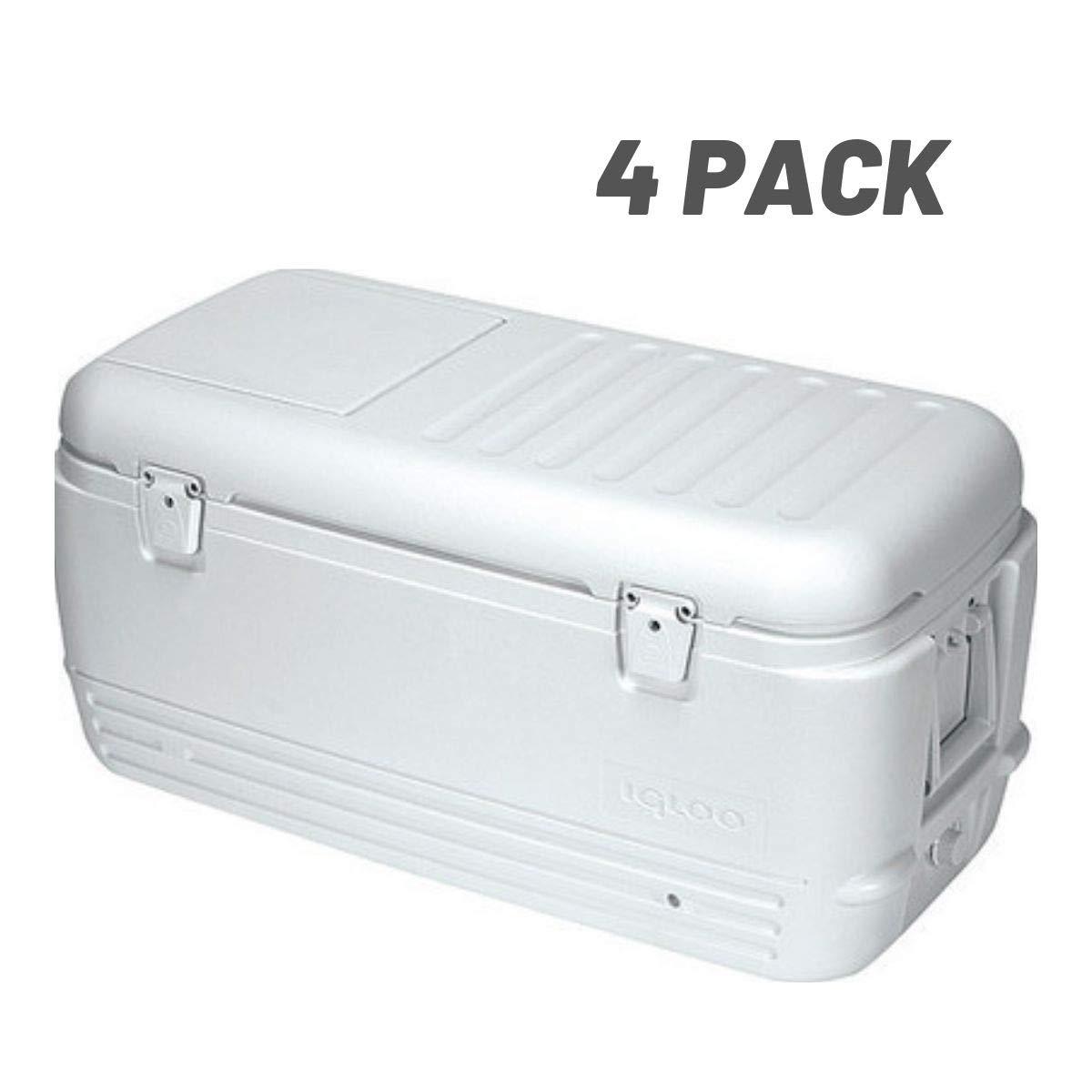 Igloo Quick and Cool 100 Qt. Cooler - 11442 (100-Quart - 4 Pack)