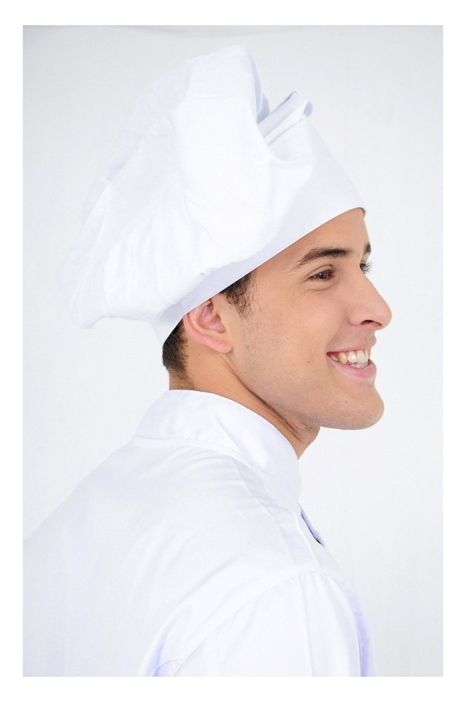 DAM Uniforms Chef Headwear