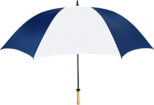 Navy Blue /& White 60-42-NBL-WH Natico Spectrum Auto-Open//Close Umbrella