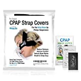 CPAP Headgear Covers, Respironics Wisp Compatible — [2 Pack] Fleece Comfort Wraps + Inclusions | Machine, Masks & Equipment Supplies by RespLabs