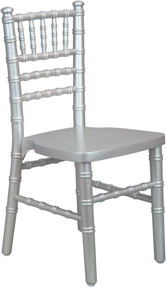 Advantage Kids Silver Wood Chiavari Chair