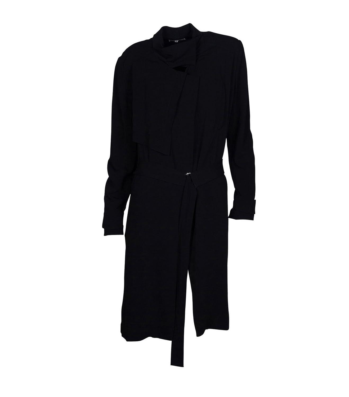 IRO Damen Mantel Herbst Winter - Viskose schwarz
