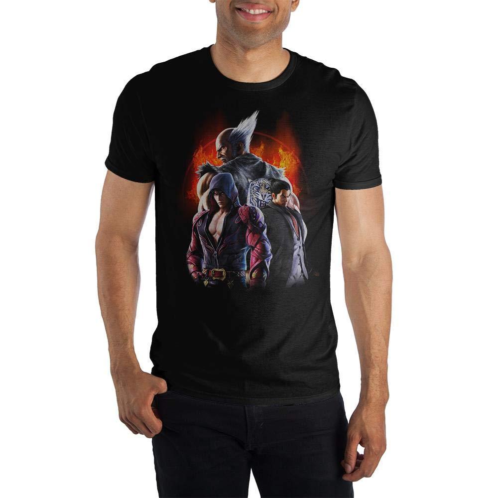 Gaming Character Grouping Tekken For Shirts