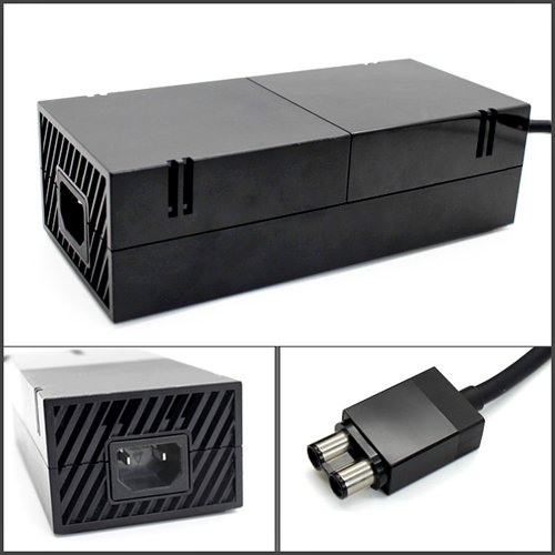 Century Accessory US AC Adapter Power Supply Cord for Microsoft Xbox One Console