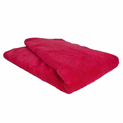 "Chemical Guys MIC_723 Microfiber Towel (Red, 25"" x 36""""): Automotive"