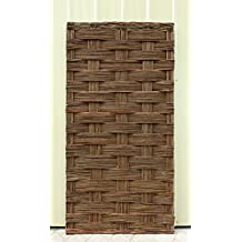 """Braided Willow Fence Panel, 36""""W x 72""""H"""
