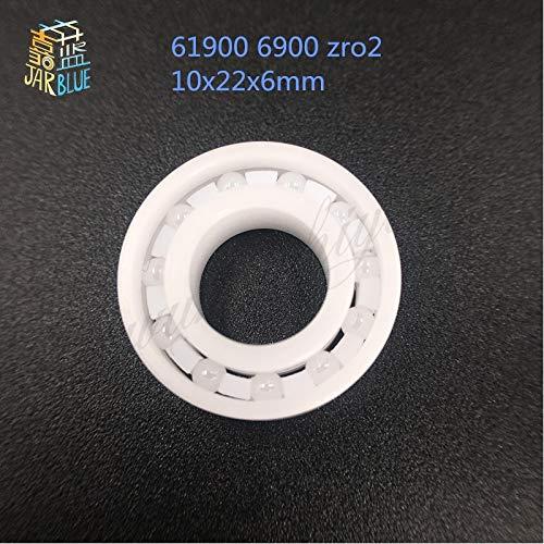Ochoos 61900 6900 zro2 Full Ceramic Bearing CE6900 10x22x6mm Thin Section