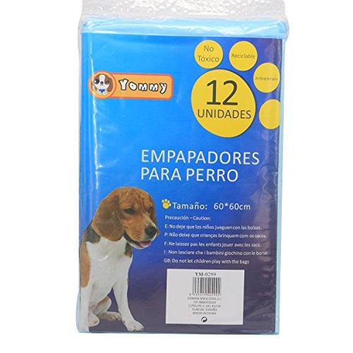 YOMMY® Empapadores Perros Para Mascotas Toallitas de entrenamiento para mascotas 60 x 60 cm YM-0299(36 Unidades)