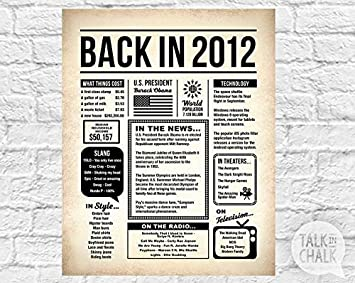 graphic about Free Printable Birthday Newspaper identify : Cherry Perry Back again inside 2012 Newspaper Poster