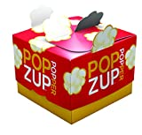 Healthy, Yummy New Way to Microwave Popcorn- NO Chemicals, Silicone or Plastic- Non-GMO, Gluten Free, Whole Grain, Earth Friendly, US Made & Grown- Equals 12 Lg Microwave Popcorn Bags- Popzup Popper