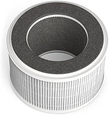 HOmeLabs Purificador de aire 3 en 1 iónico con filtro HEPA® – Mini ...