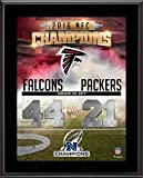Atlanta Falcons 2016 NFC Conference Champions 10.5'' x 13'' Sublimated Plaque - Fanatics Authentic Certified