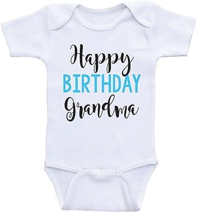 Happy Birthday Nana Baby Bodysuit shirt