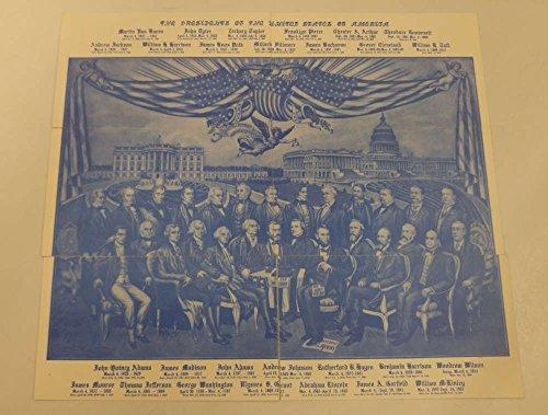 Set of 6 Patriotic Presidents Inauguration Day Cancel Postcards J70207