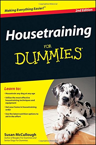 Housetraining Dummies Susan McCullough