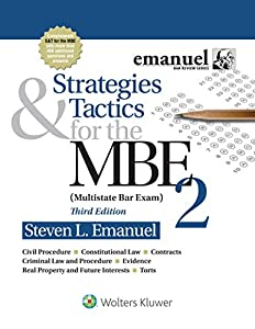 Strategies and Tactics for the MBE 2 (Bar Review Series)