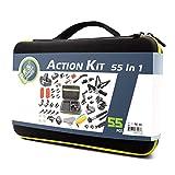DeKaSi 55-In-1 Action Camera Accessories Kit for GoPro 7 black GoPro Hero 6 5 4 3+ Hero Session 5 Apeman SJ6000 DBPOWER AKASO VicTsing Rollei Lightdow Campark