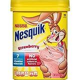 Nesquik Milk Shake Powder, Strawberry, 8 Ounce