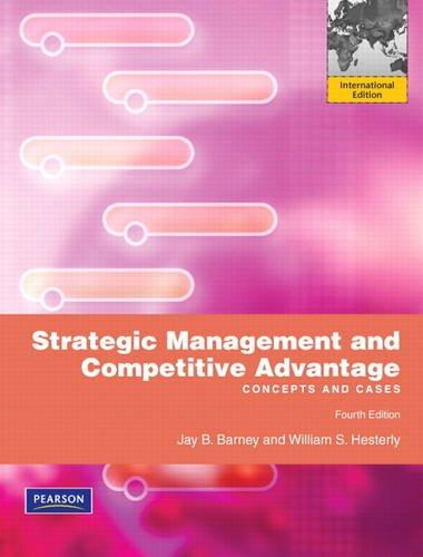 Download Strategic Management and Competitive Advantage PDF