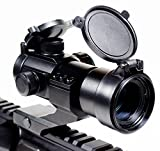 Ozark Armament Rhino Red Dot Sight - Green Dot Sight - Includes Picatinny Mount - Co-Witness - Reflex Rifle Sight