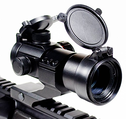 (Ozark Armament Rhino Red Dot Sight - Green Dot Sight - Includes Picatinny Mount - Co-Witness - Reflex Rifle Sight)