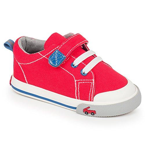See Kai Run Kids' Stevie Ii Red Sneaker