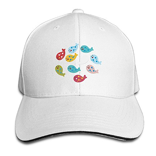 funny-peaked-sandwich-cap-fishes-adults